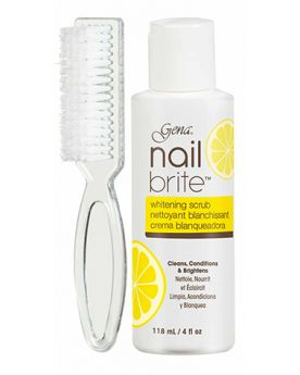 Gena Nail Brite 4 oz w/Brush