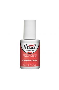 SuperNail ProGel Cameo Coral 0.5 fl oz