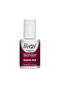 SuperNail ProGel Roman Red  0.5 fl oz