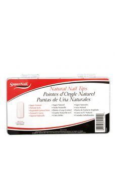 SuperNail Natural Nail Tips